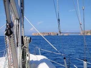 Ausfahrt Bucht Navarino