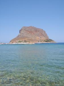 Der Fels von Monemvassia